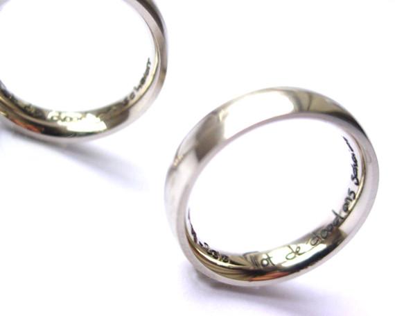 Handgeschreven ringen