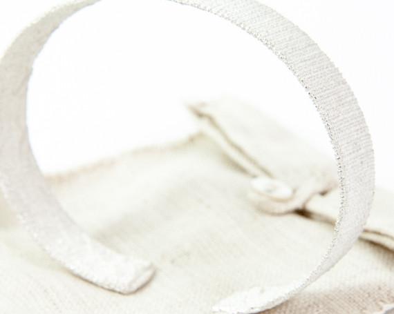 'Textiel' huwelijksarmband